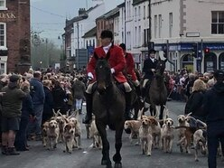 Boxing Day hunts out in force in Shropshire