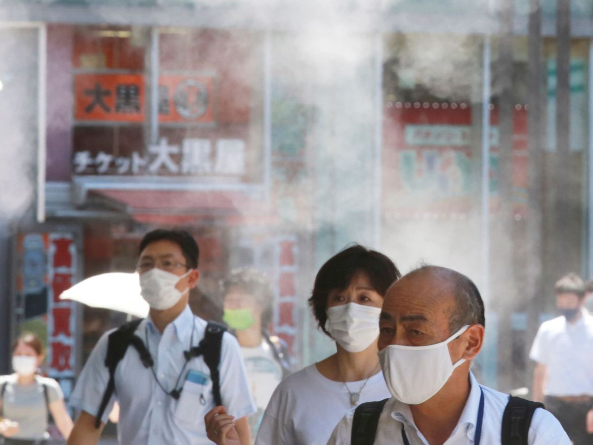 People in Tokyo
