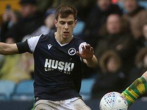 Jayson Molumby playing for Millwall. (AMA)
