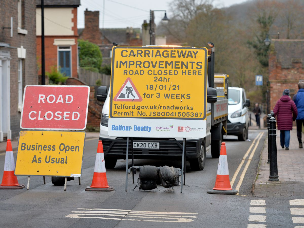 Resurfacing work on the Wharfage has been suspended