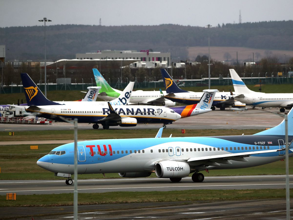 TUI is expecting to operate up to 75% of its summer schedule this year
