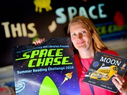 Lift off ready for space challenge at Shropshire libraries