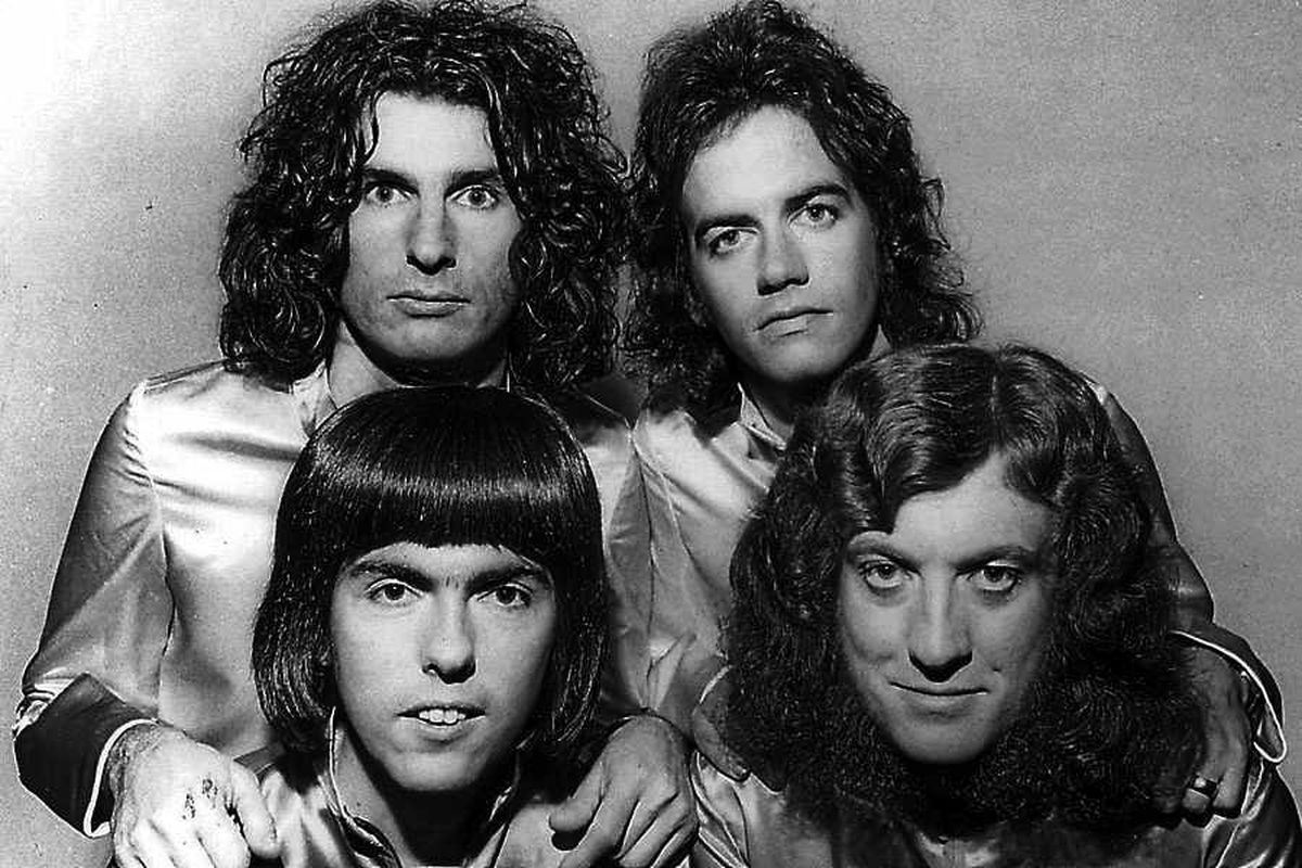 Slade dominated the pop charts in the early 1970s