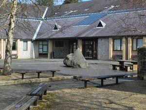 Ysgol Calon Cymru Builth Campus.