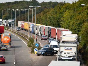 Brexit trucks