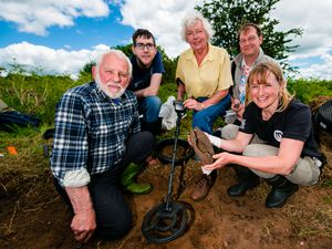 Shropshire archaeological digs lead to WWI finds - with pictures