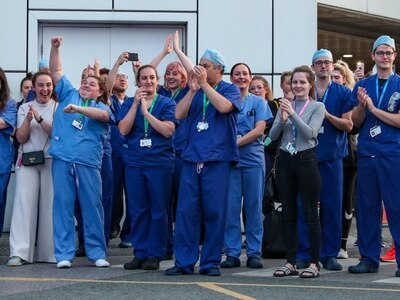 Nationwide clap to celebrate 72nd anniversary of the NHS