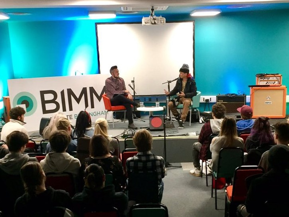 Slipknot's Sid Wilson gives musical masterclass in Birmingham