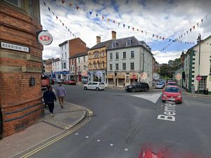The damage was done in central Welshpool. Photo: Google