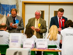 Who will be celebrating when the votes are counted at Shropshire Council in May?