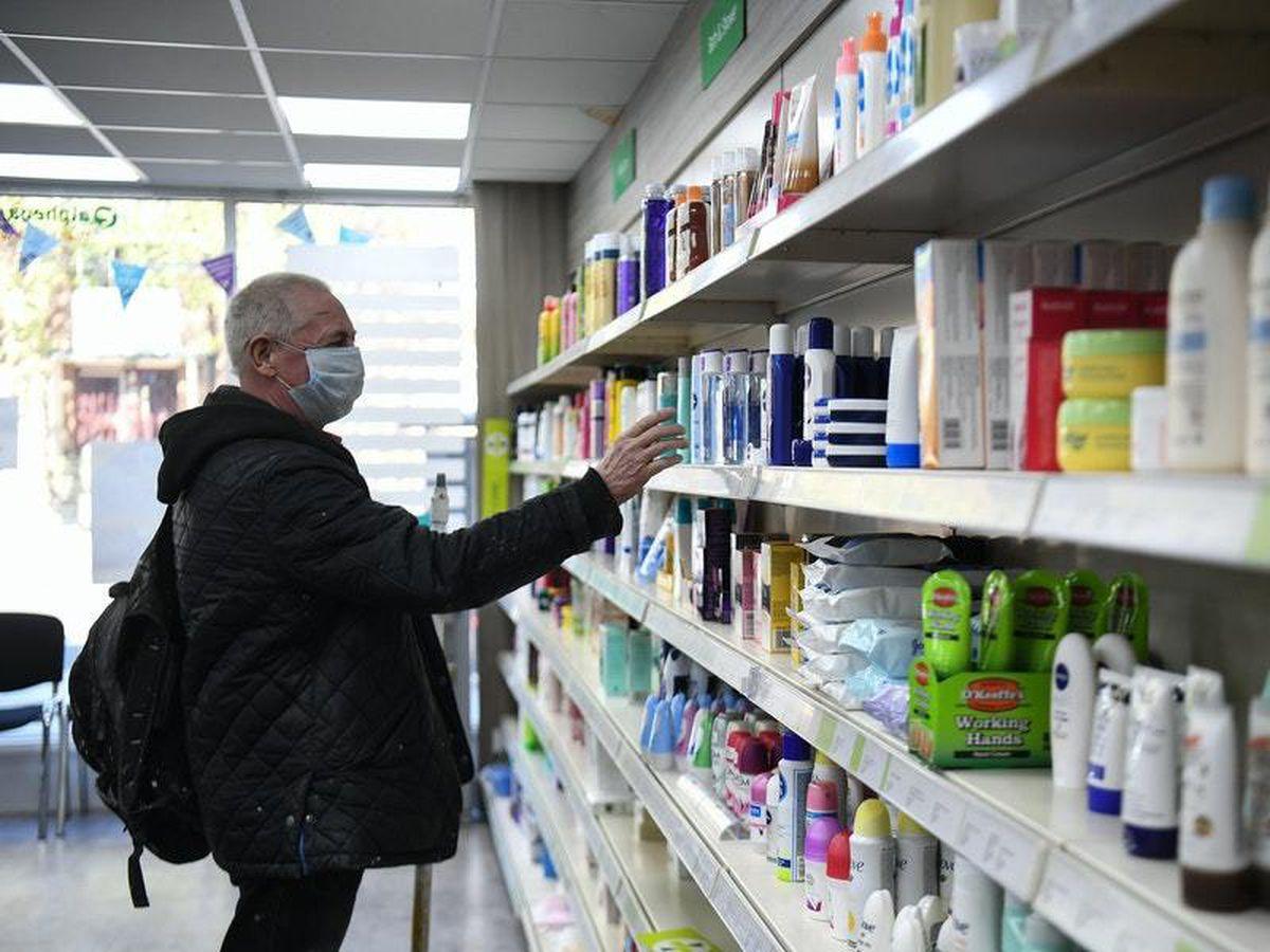 Shopping for medicine during lockdown