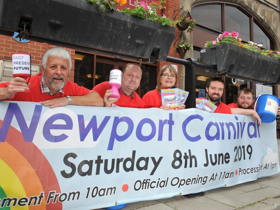Final countdown to Newport Carnival