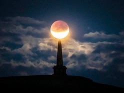 In Pictures: Partial lunar eclipse celebrated across the world