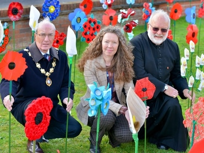 Shropshire remembers: Ellesmere peace garden unveiled - with video and pictures