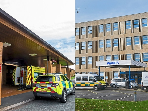 Split the £3m between both county hospitals