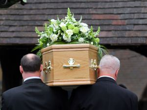 File photo of a funeral taking place (PA)