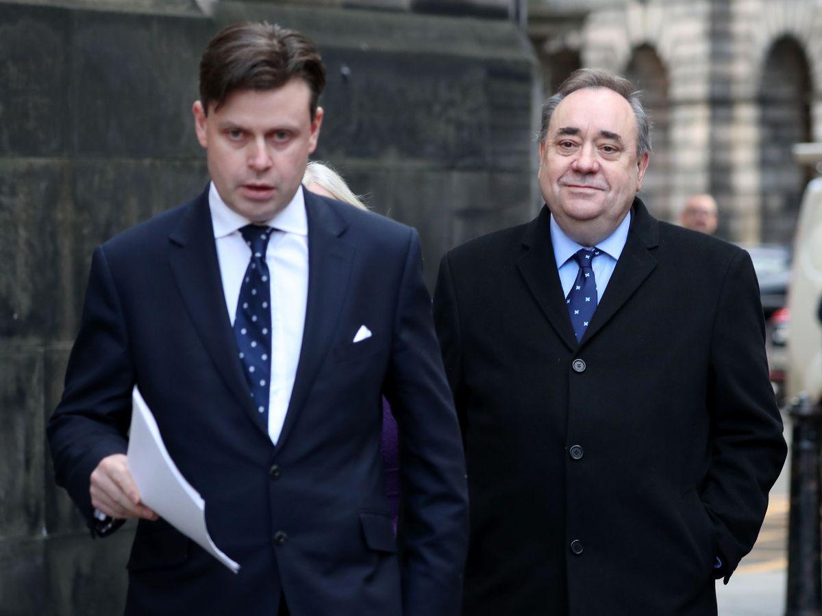 David McKie and Alex Salmond