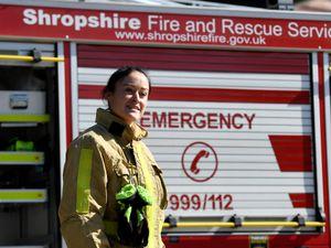 Shropshire Fire and Rescue Service.
