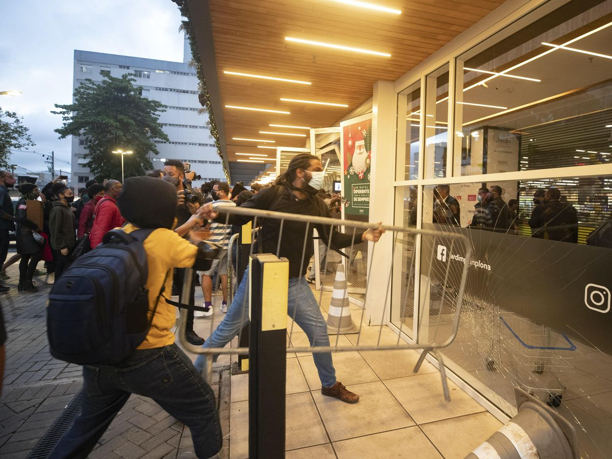 Brazil Supermarket Death