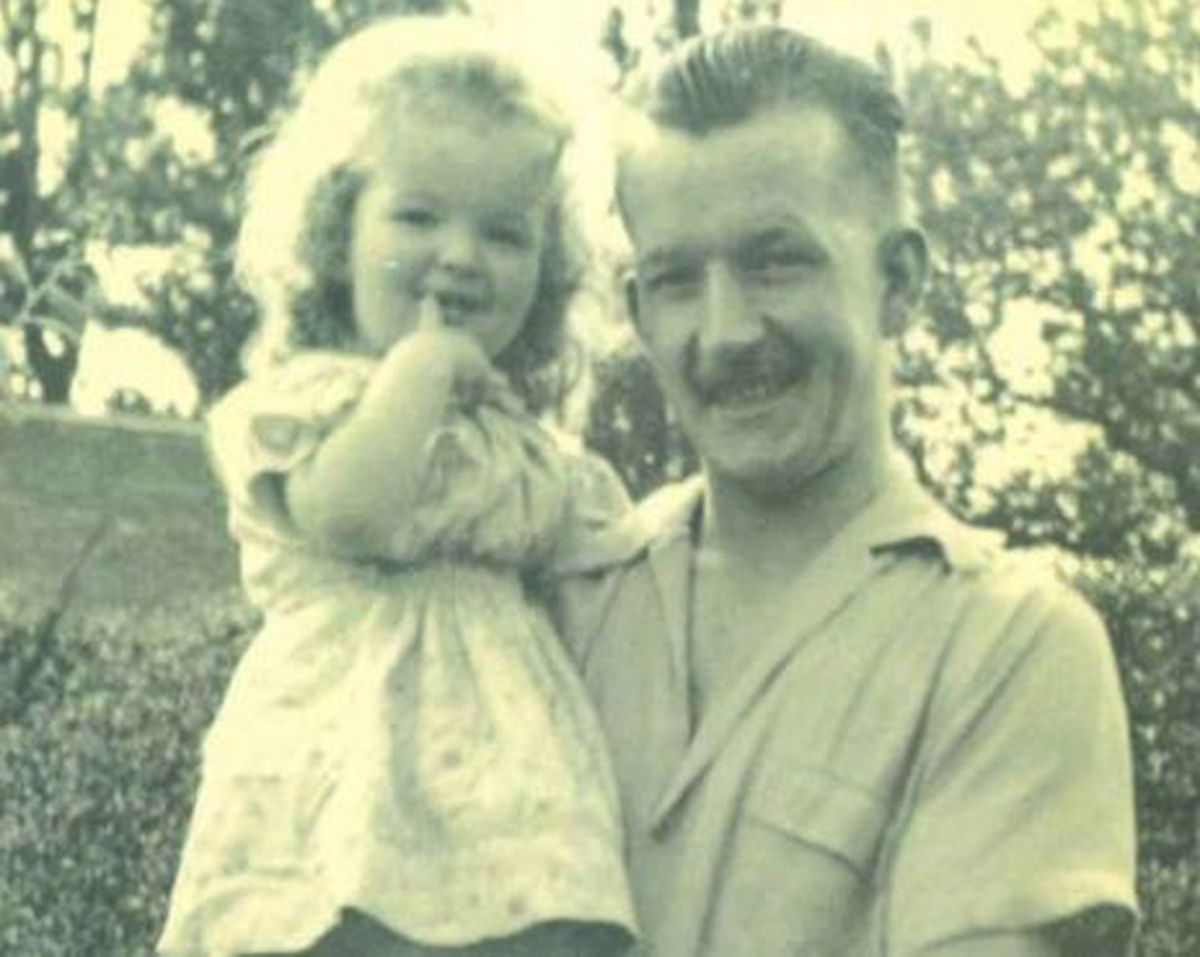 Mr Kerr, pictured with his late daughter Maryanne, had been living at a care home in Newtown
