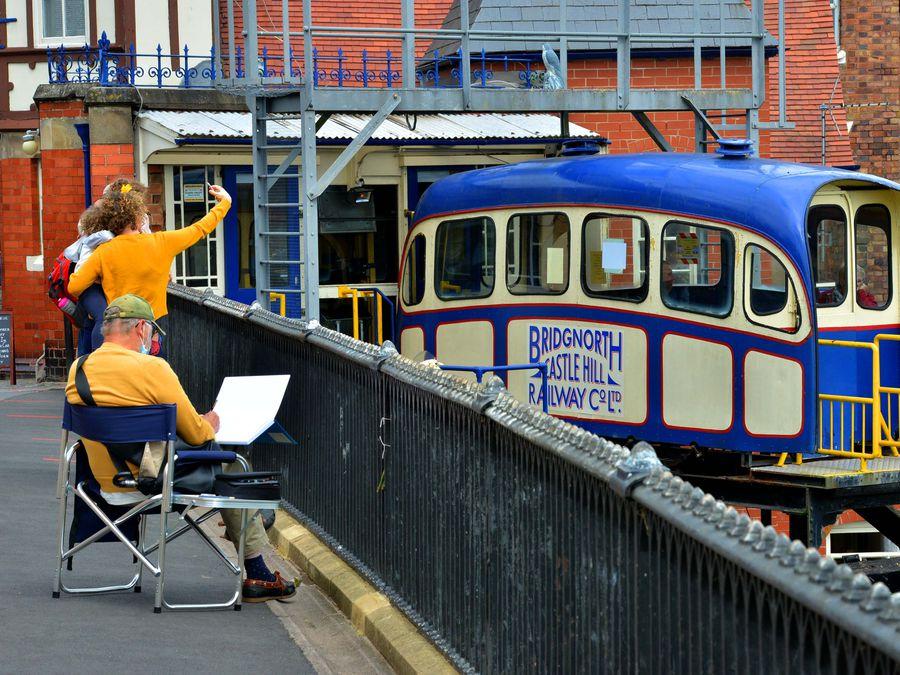 Bridgnorth's Cliff Railway will reopen on Monday