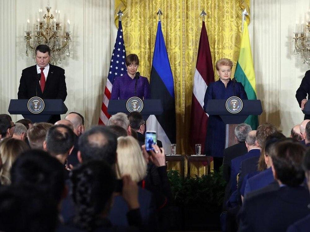 Trump Turns His Immigrant 'Caravan' Ire On Honduras