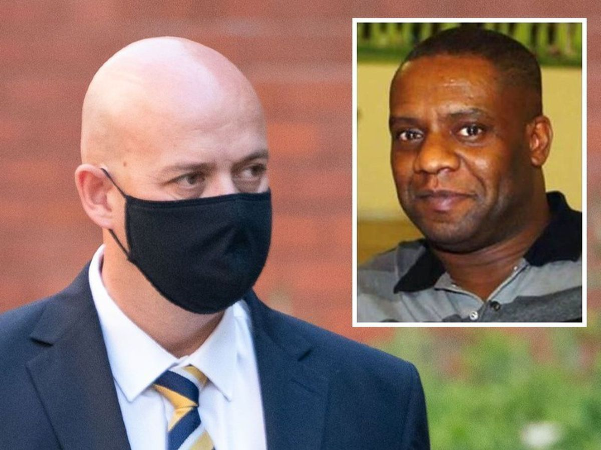 Pc Benjamin Monk was found guilty of the manslaughter of ex-footballer Dalian Atkinson, inset