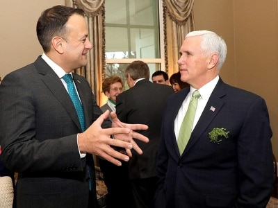 Varadkar discusses equality and rights issues with US vice president Pence
