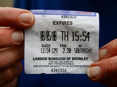Number of private parking ticket appeals up 95% in three years