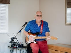 Five-hour VE Day busk by Telford veteran helps raise thousands for Severn Hospice