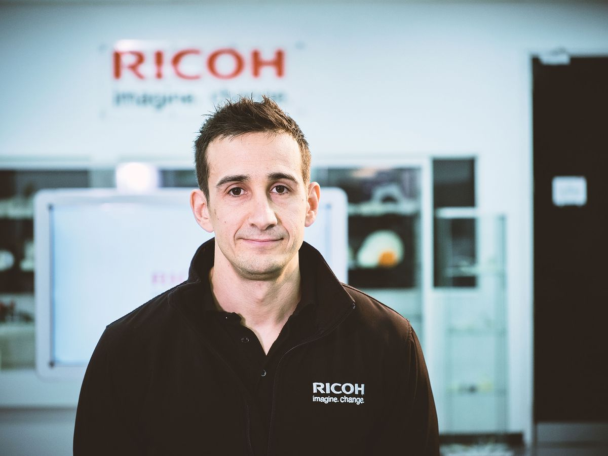Mark Dickin, additive manufacturing and moulding engineering manager at Ricoh 3D