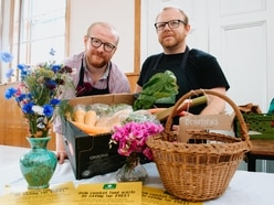 Waste not want not in Oswestry