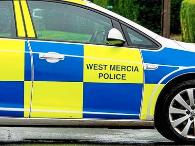Man arrested following crash near Oswestry