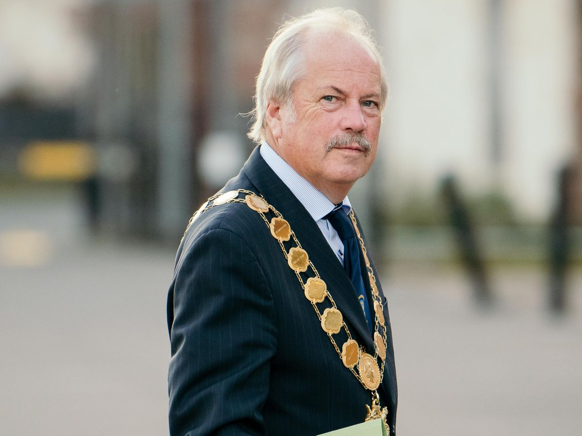 Shropshire Council leader, Councillor Peter Nutting