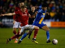 Sam Ricketts expecting Josh Laurent to stay at Shrewsbury Town