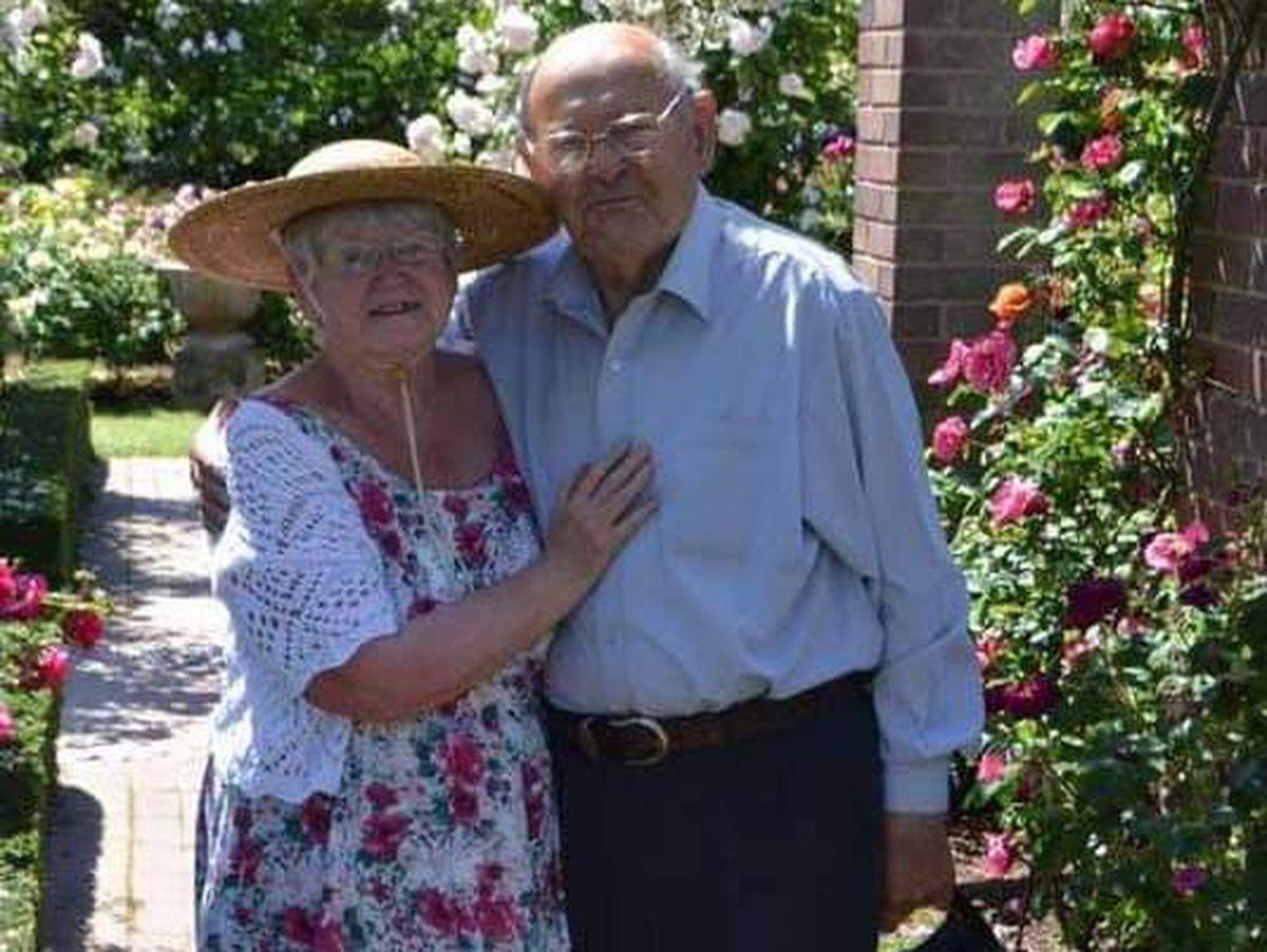 Bob Urey and wife Pat
