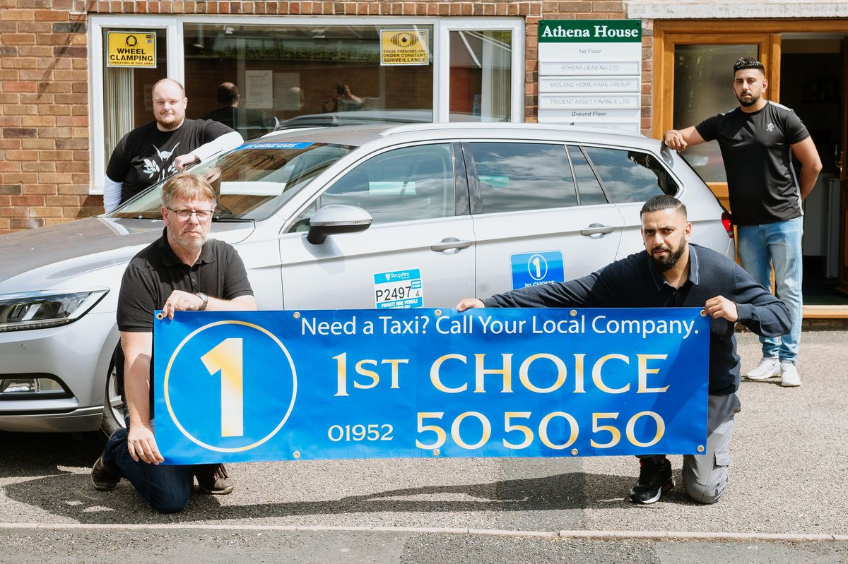 Front are Adrian Picken and Sakib Saleem with Lee Smith and Atif Aleim