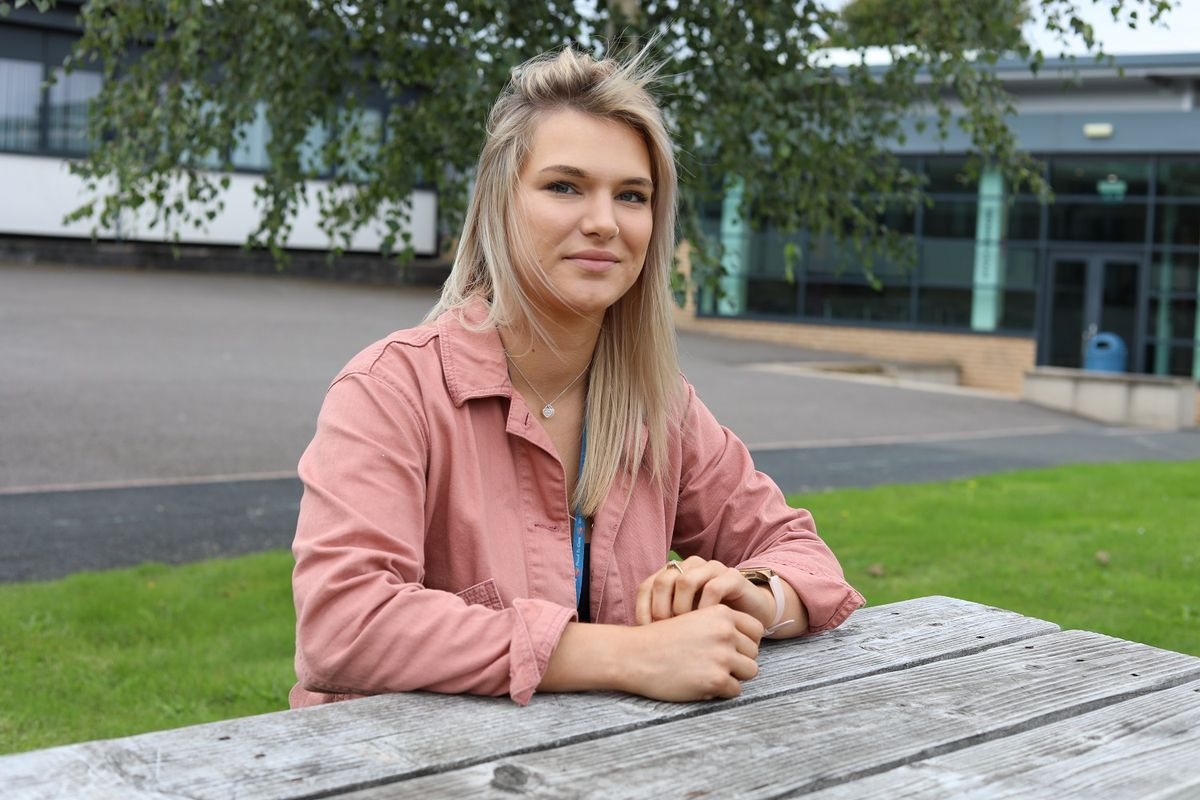 Natasha Rawlings said doing an apprenticeship was the best career decision she made
