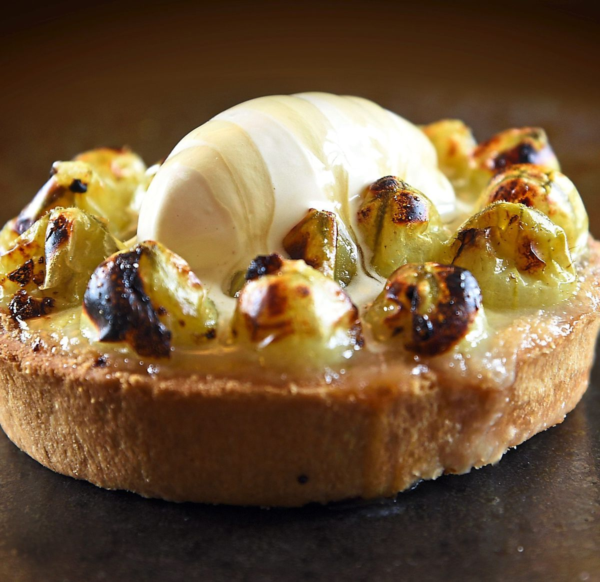 Sharp and sweet – the gooseberry tart