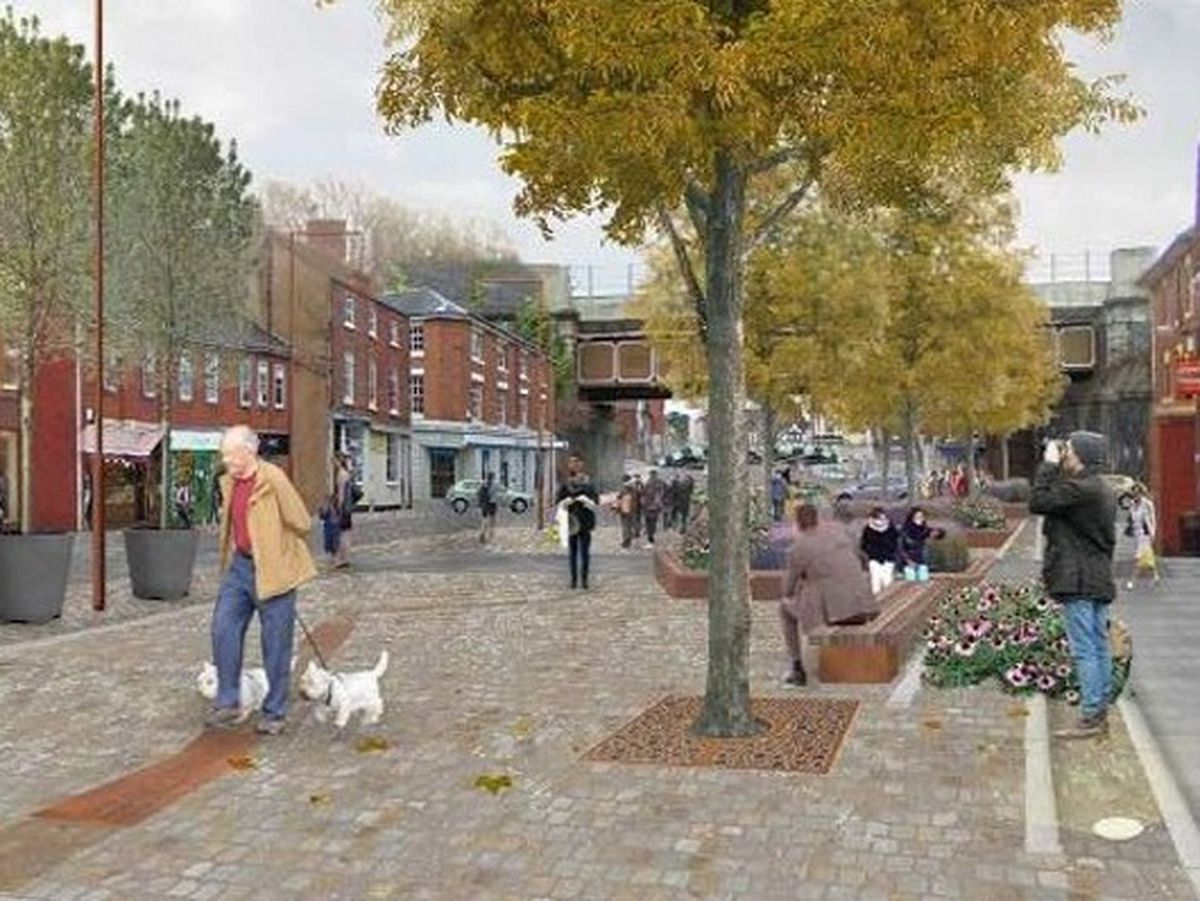 How the Shifnal work could look when completed