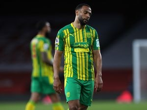 Matt Phillips of West Bromwich Albion reacts at the final whistle having lost 3-1 meaning that West Bromwich Albion are relegated from the Premier League. (AMA)