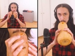 Someone played a cover of Toto's Africa on a squash and two sweet potatoes