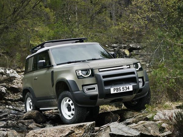 The new Defender will be built in Slovakia (Land Rover/PA)