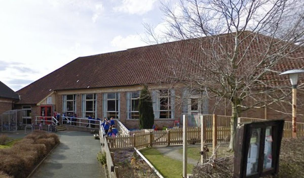 Guilsfield Community Centre Outside - it forms part of Guilsfield Primary School.