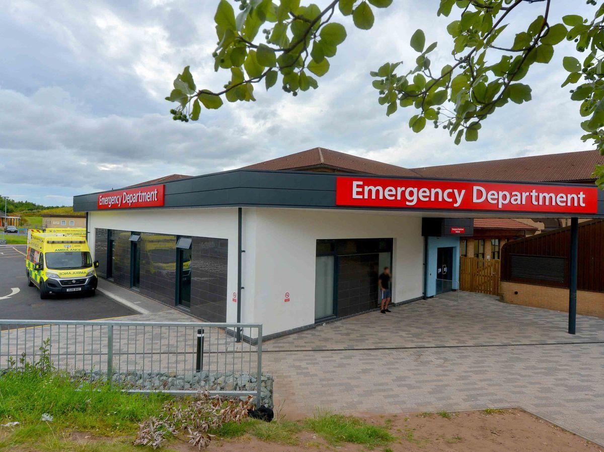 A&E at Telford's Princess Royal Hospital