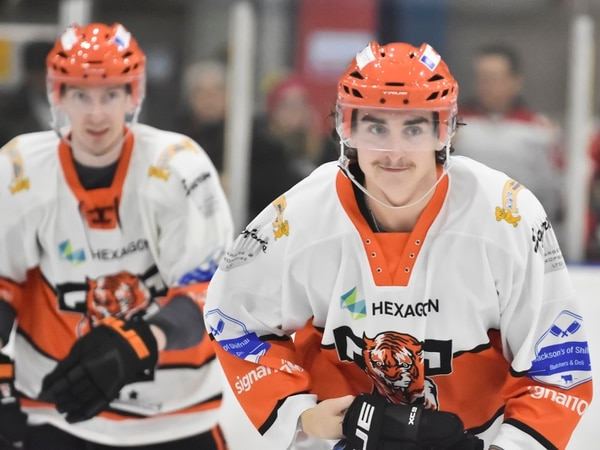 Brandon Whistle is back with Telford Tigers