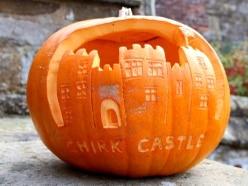 Pumpkin problems for Chirk Castle