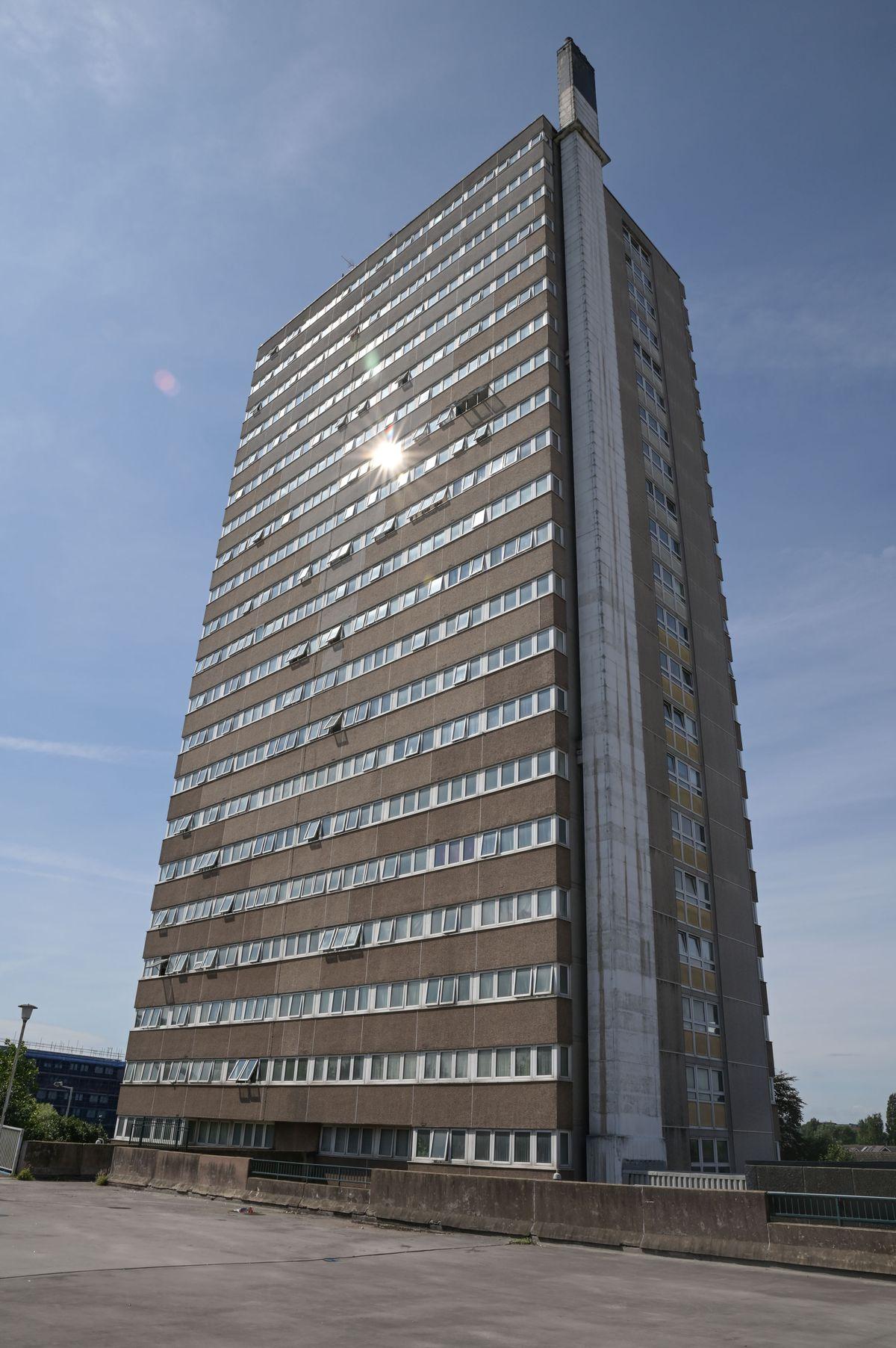 Jomaa Jerrare's last known address was at Hampton View flats in Heath Town, Wolverhampton