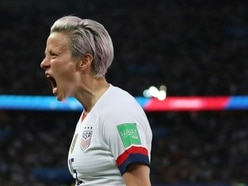 Megan Rapinoe fans see double against France as perfect riposte to Donald Trump