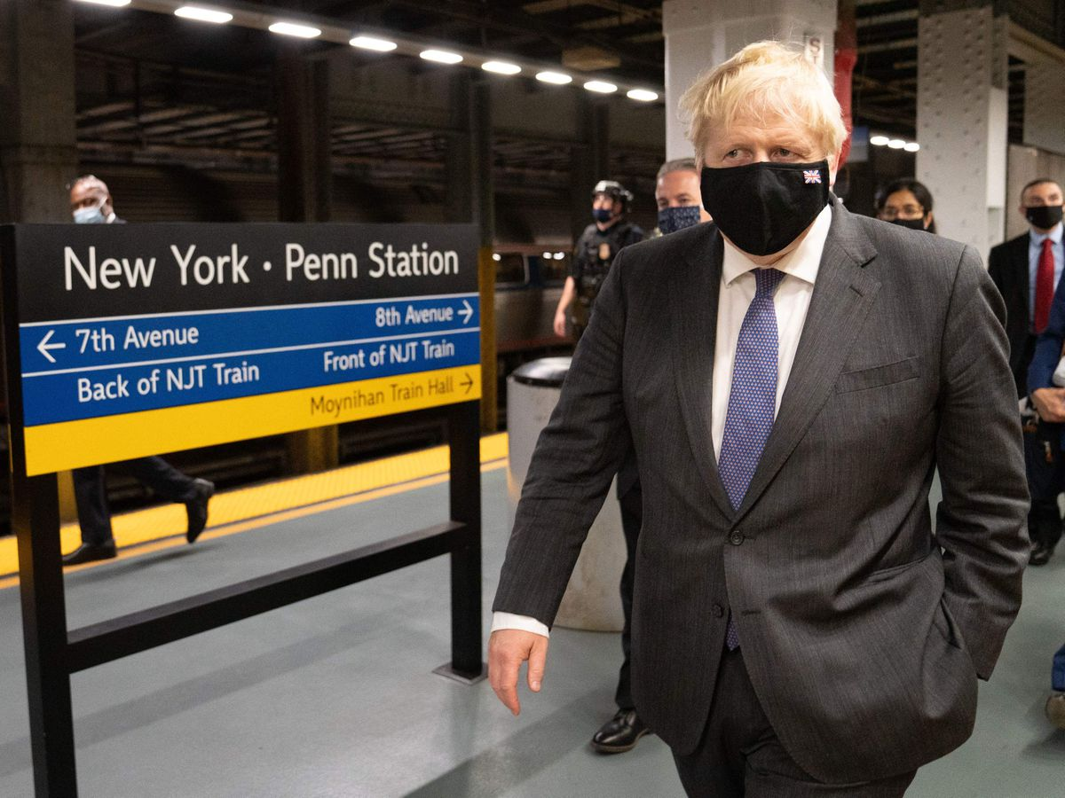 Boris Johnson visit to US